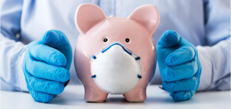 corona steuern sparschwein maske titelbild