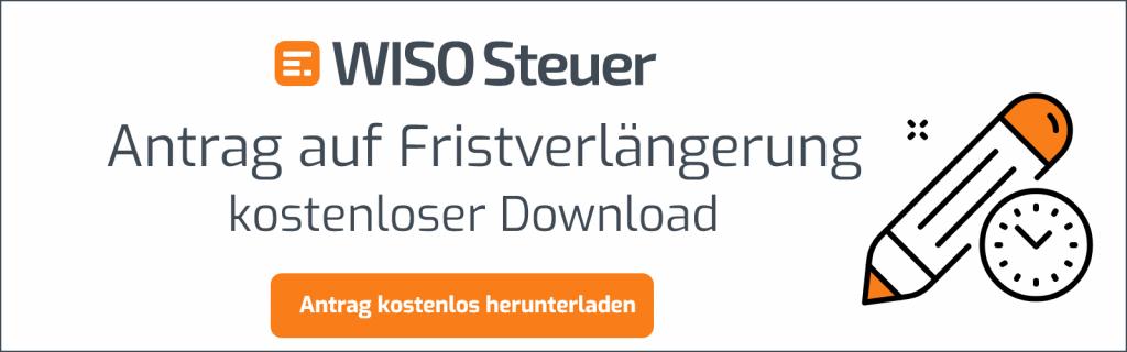 Antrag Frist-Verlängerung kostenloser Download Banner