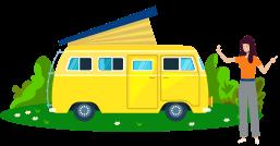 Wohnmobil Steuer Bild