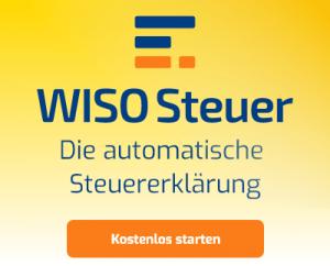 steuern Sparen Banner WISO