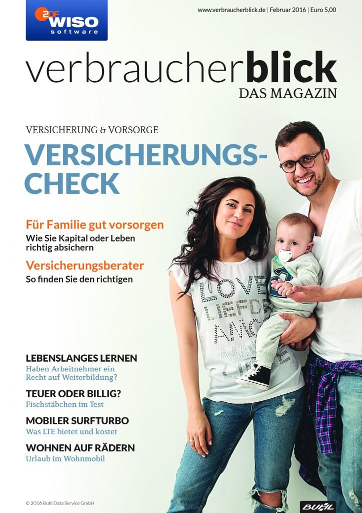 verbraucherblick 02/16 Cover