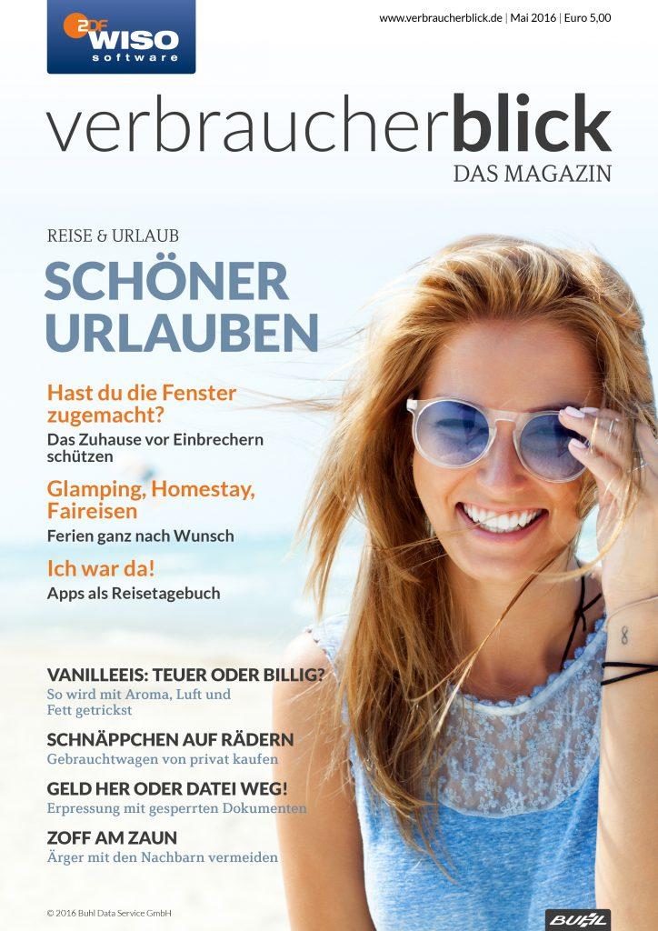 Cover verbraucherblick 05/16