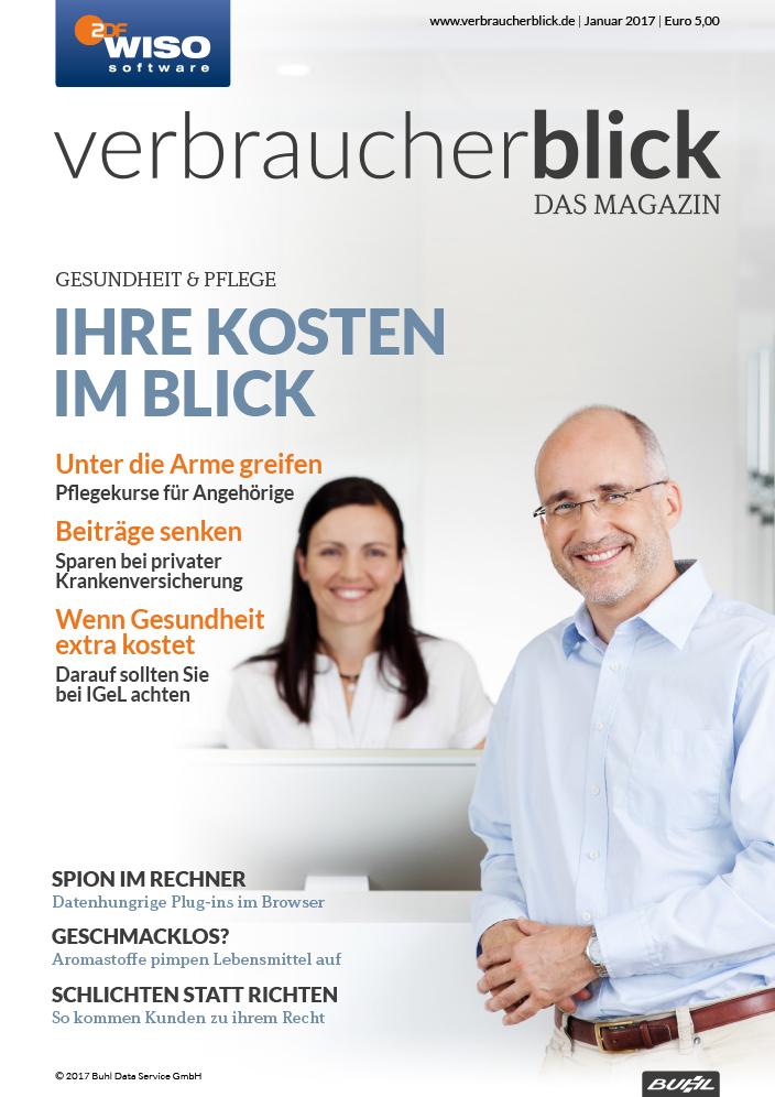 verbraucherblick 01/17 Cover