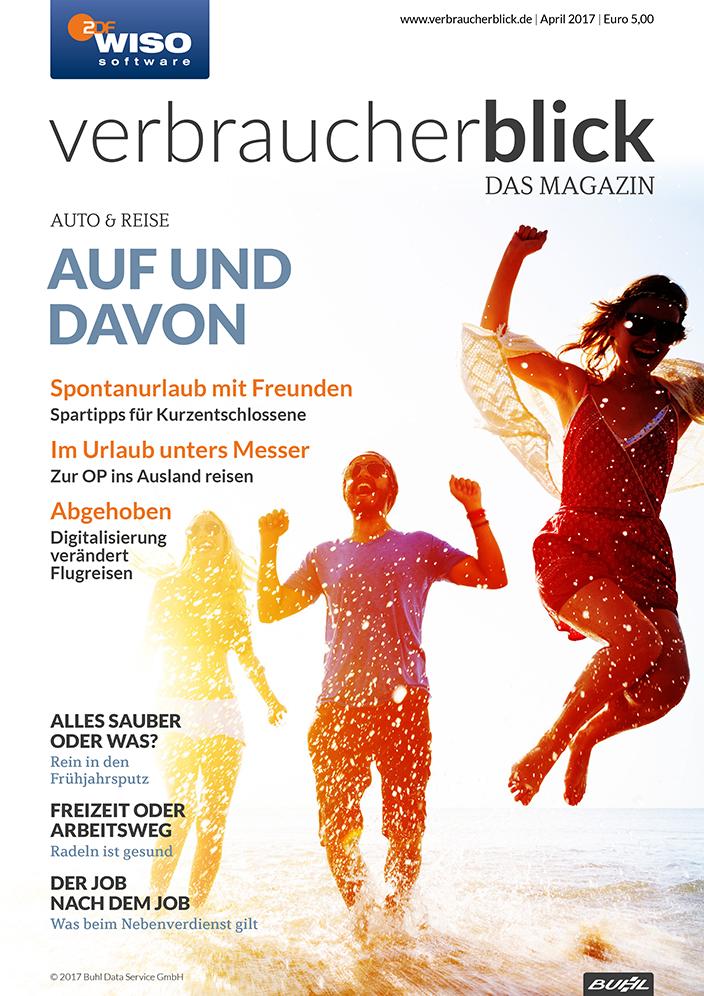 verbraucherblick 04/17 Cover
