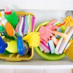 Sauberkeit und Hygiene Zuhause