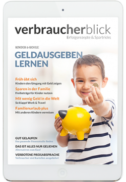 Cover der aktuellen Ausgabe von Verbraucherblick