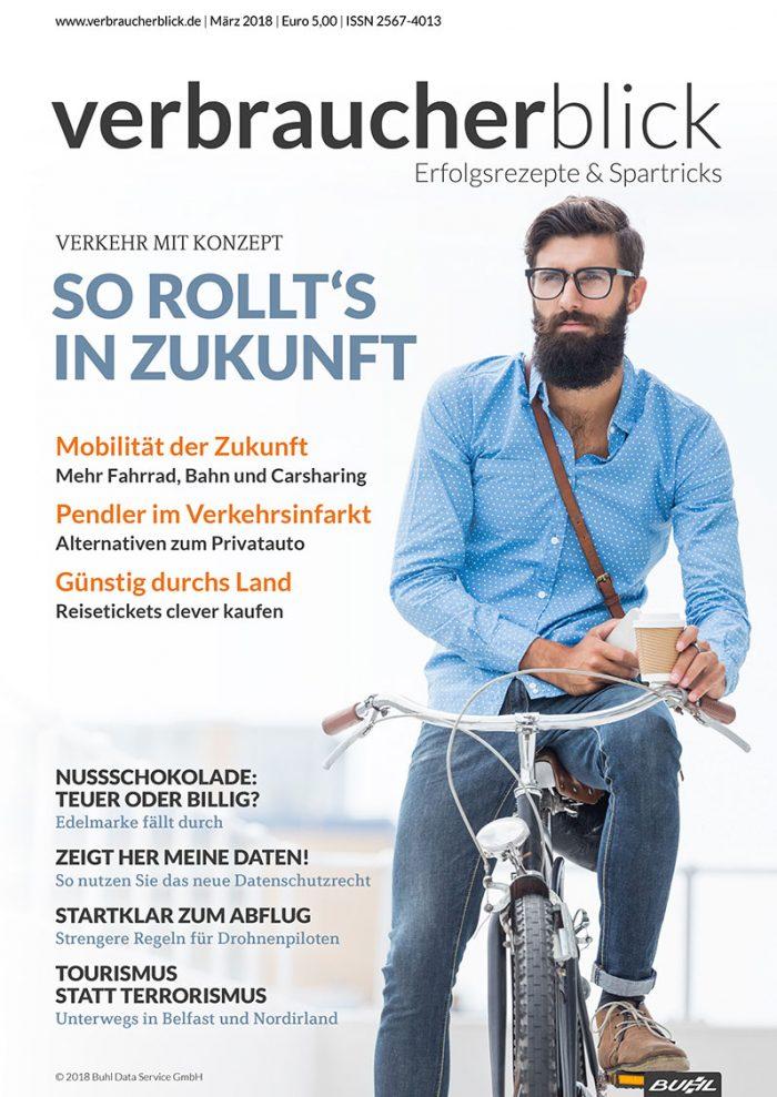 Cover - verbraucherblick 03/2018