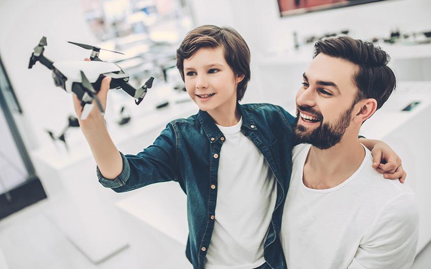 Drohnenkauf - verbraucherblick 03/2018