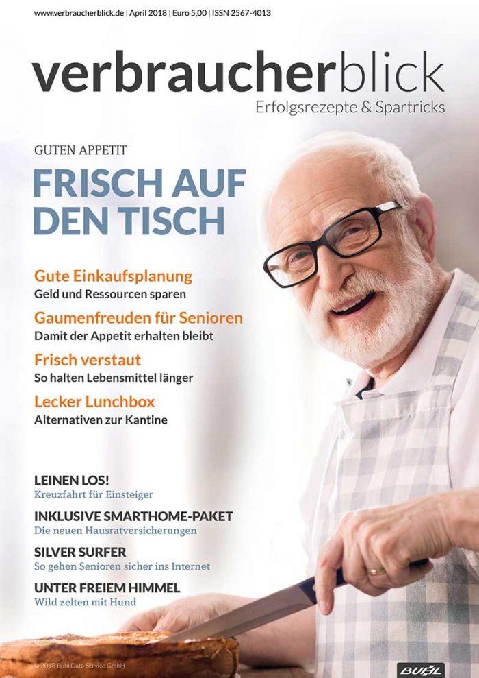 verbraucherblick 04/2018 Schwerpunkt Lebensmittel