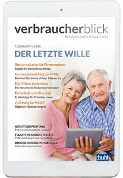 Cover der aktuellen Ausgabe von Verbraucherblick