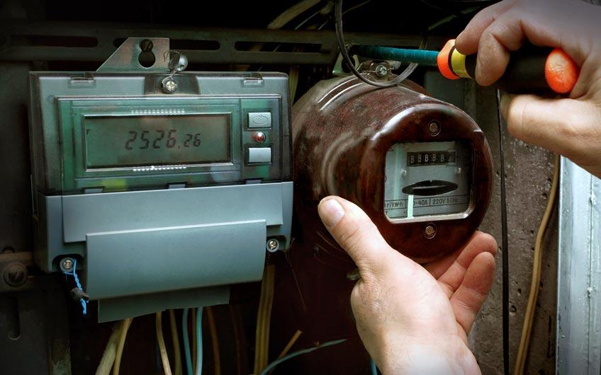 Stromzähler Smart-Meter