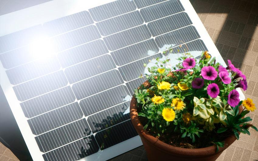 Solarpanels im Kleinformat