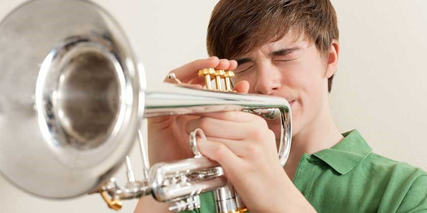 Der Trompeter und sein Nachbar
