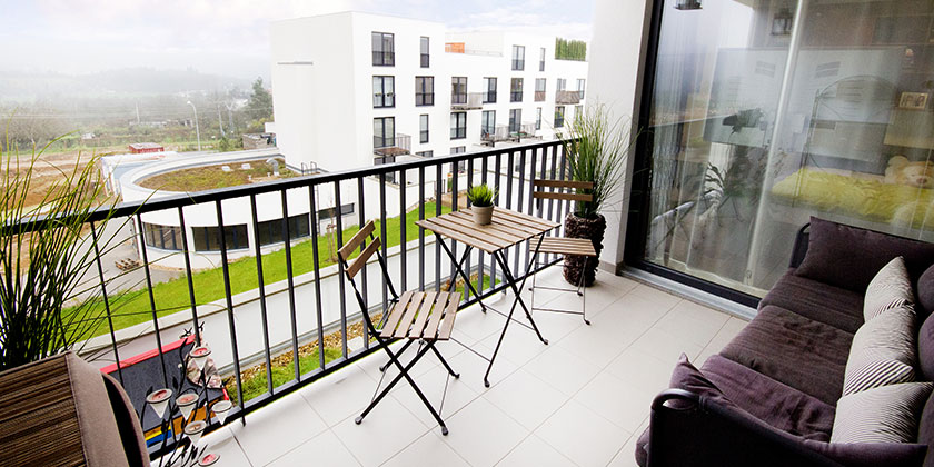 WEG: Strandkorb auf dem Balkon?