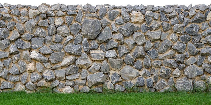 Keine Genehmigung für Stützmauer
