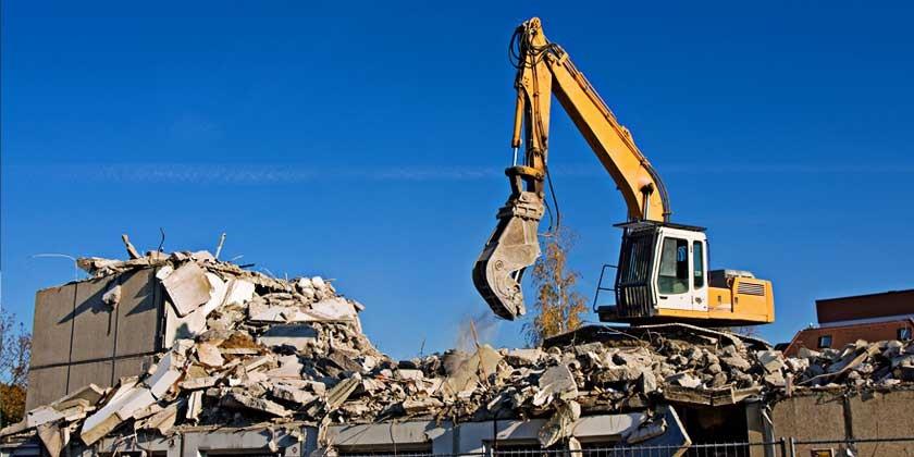 Abrissgenehmigung und Neubau-Miete