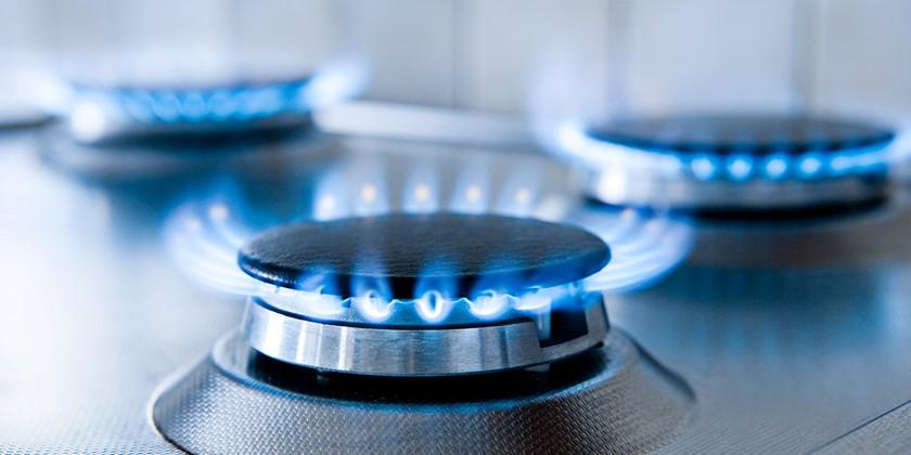 Unterbrochene Gasversorgung
