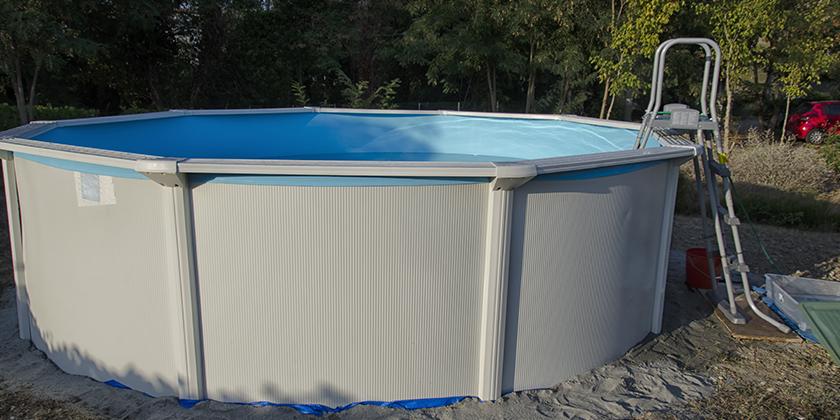 Ein Swimmingpool im Garten?