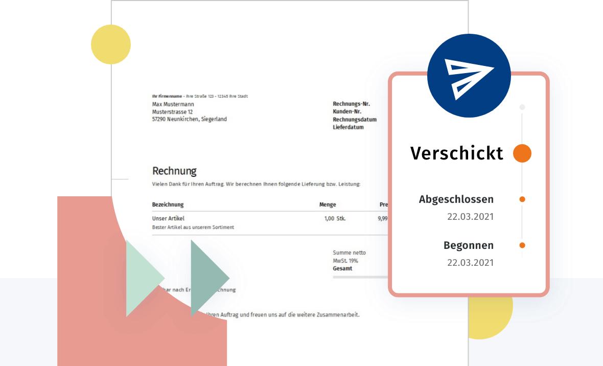 Rechnungsprogramm - Rechnung erstellen und versenden